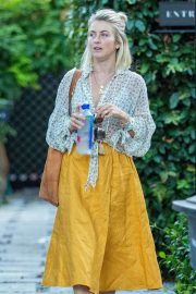 Julianne Hough - Leaves her office in West Hollywood