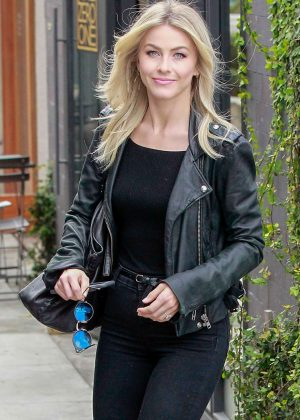 Julianne Hough - Leaves Nine Zero One Salon in West Hollywood