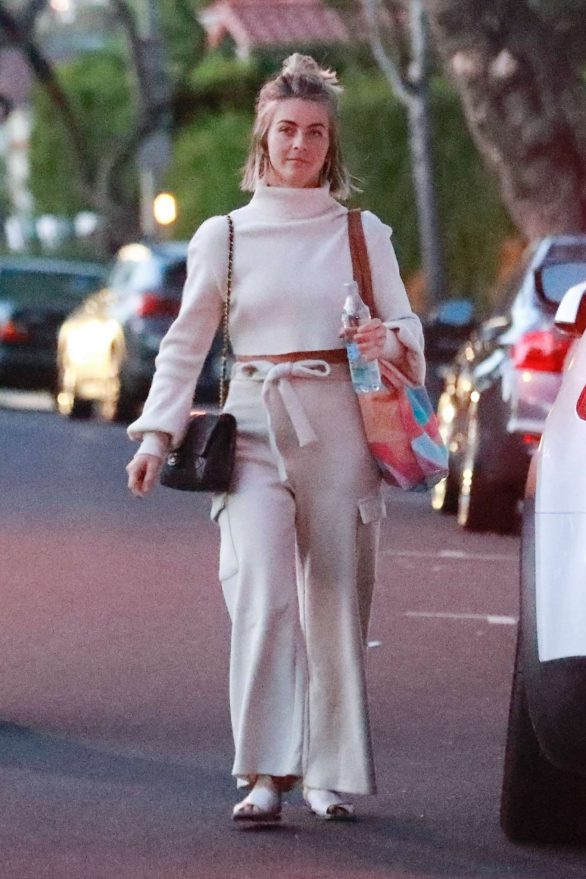 Julianne Hough - Leaves the office with a friend in Los Angeles