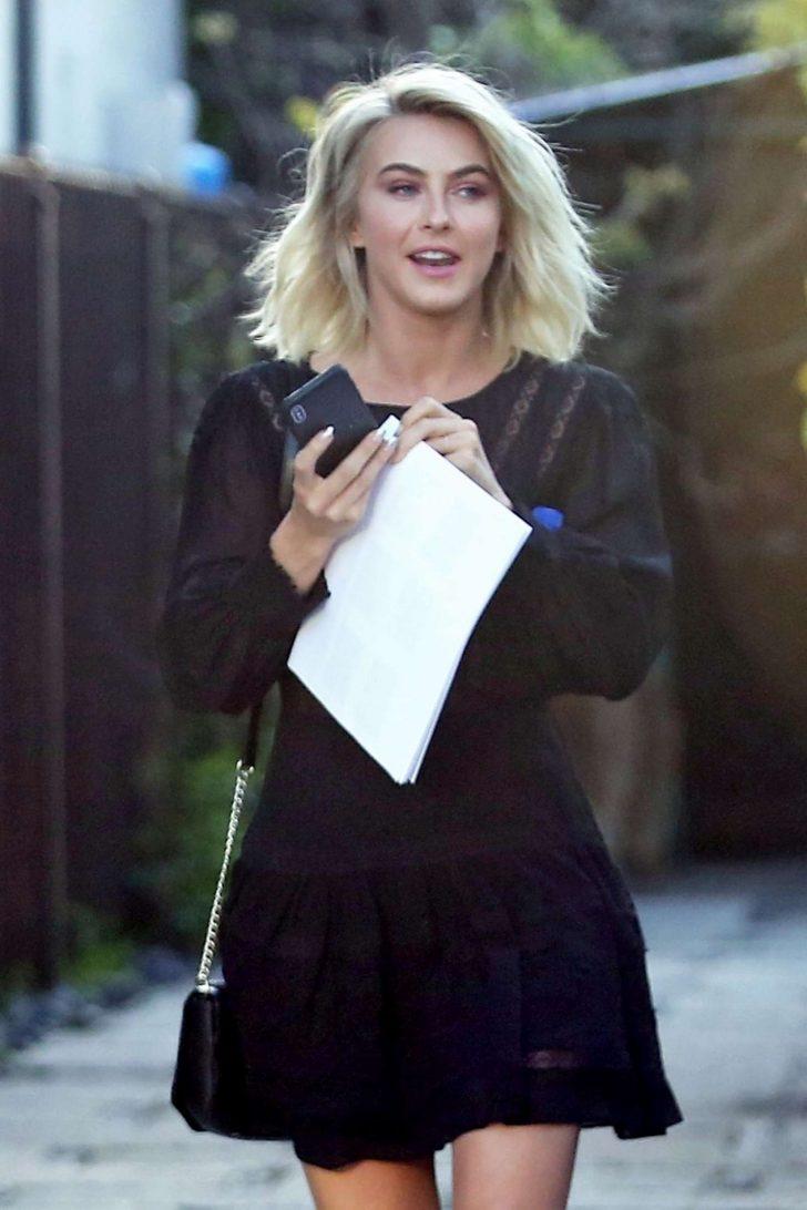 Julianne Hough - Leaving a Business Meeting in LA