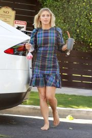 Julianne Hough - Leaving a friend's house in West Hollywood
