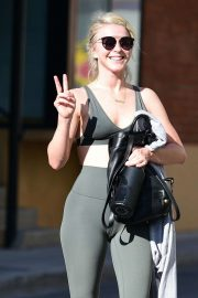 Julianne Hough - Leaving a gym in Studio City