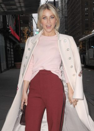 Julianne Hough - Leaving an Office Building in New York
