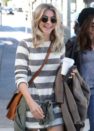 Julianne Hough - Leaving Cafe Zinque in West Hollywood