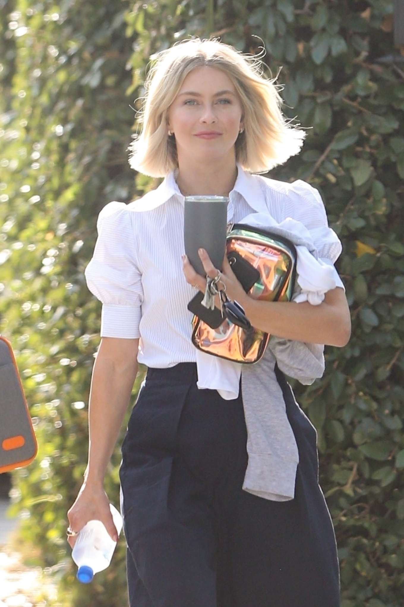 Julianne Hough - Leaving office after meetings in Hollywood