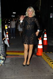Julianne Hough - Leaving Raul's Restaurant in New York City