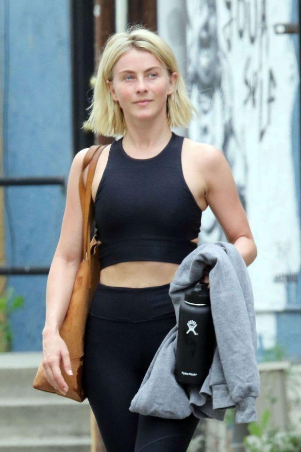 Julianne Hough 2019 : Julianne Hough: Leaving the gym in LA -07