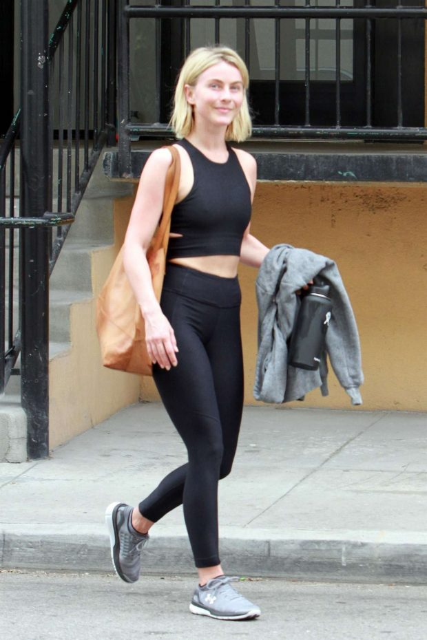 Julianne Hough: Leaving the gym in LA -11