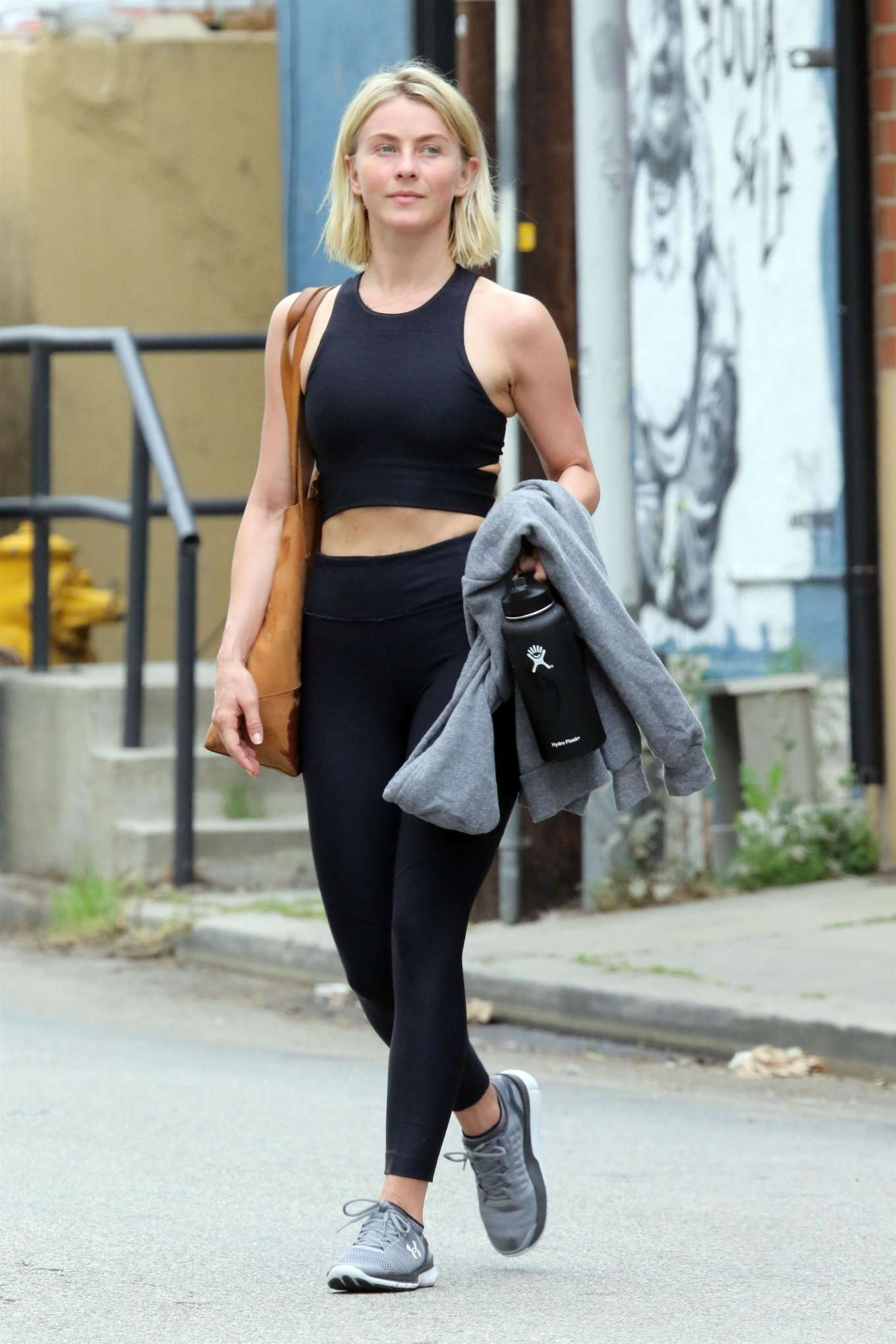 Julianne Hough 2019 : Julianne Hough: Leaving the gym in LA -17