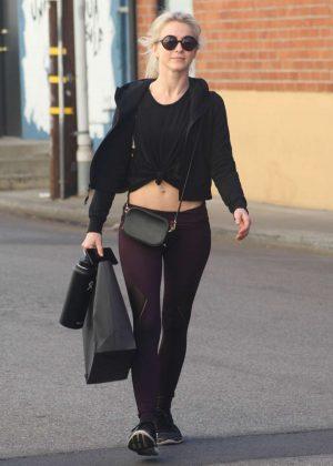 Julianne Hough - Leaving the gym in Studio City
