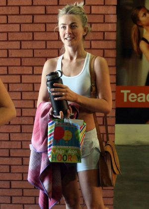 Julianne Hough - #MOVEinteractive event at Core Power Yoga in Studio City