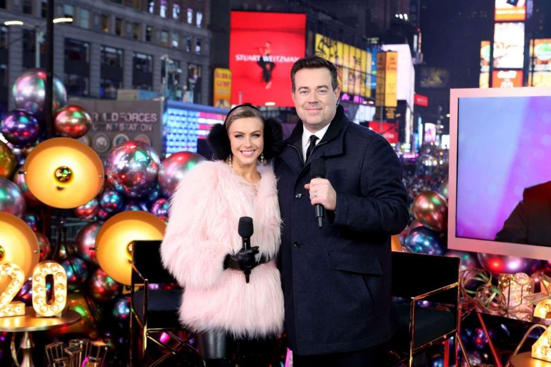 Julianne Hough 2020 : Julianne Hough – NBC's New Years Eve in New York-08
