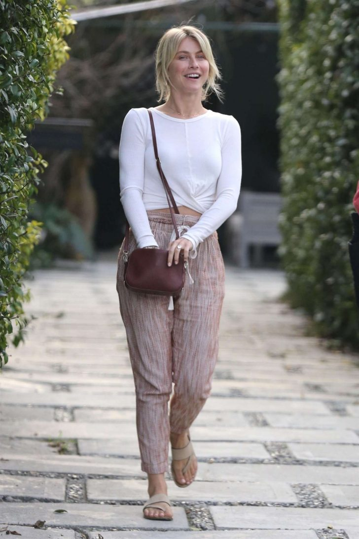 Julianne Hough - Out in Hollywood