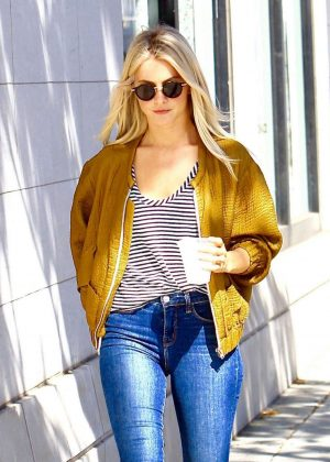 Julianne Hough in Tight Jeans Out in Los Angeles