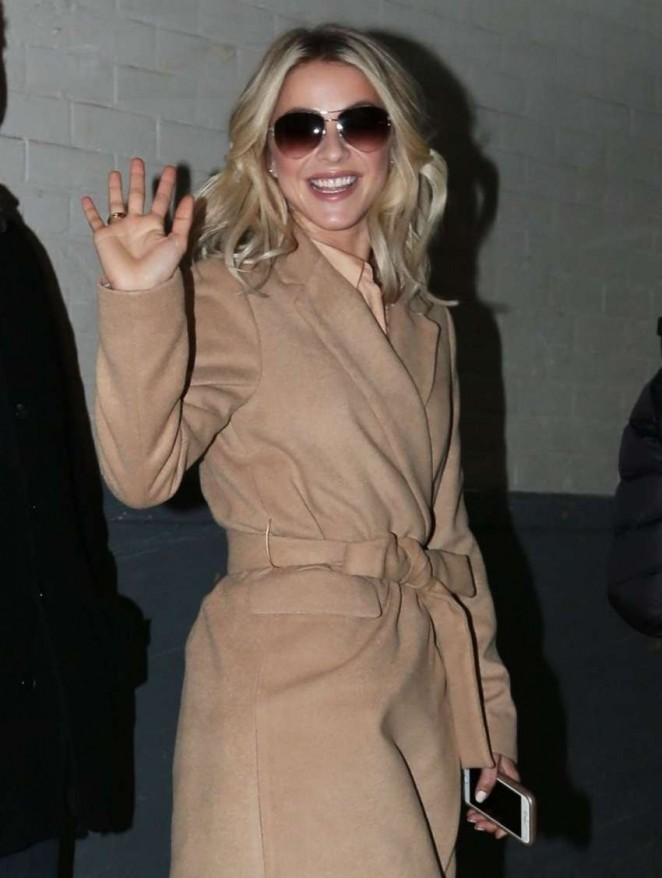 Julianne Hough - out in NYC