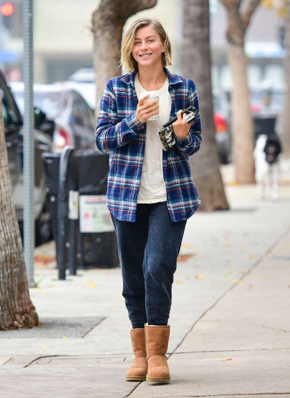 Julianne Hough - Out in Studio City