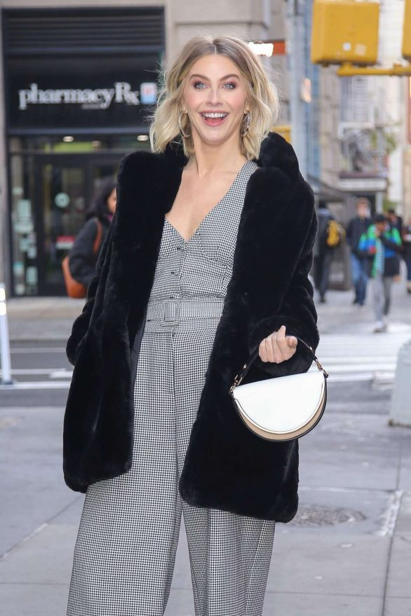 Julianne Hough - Outside Buid Series in New York City