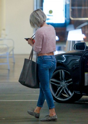 Julianne Hough Booty in Jeans out in West Hollywood