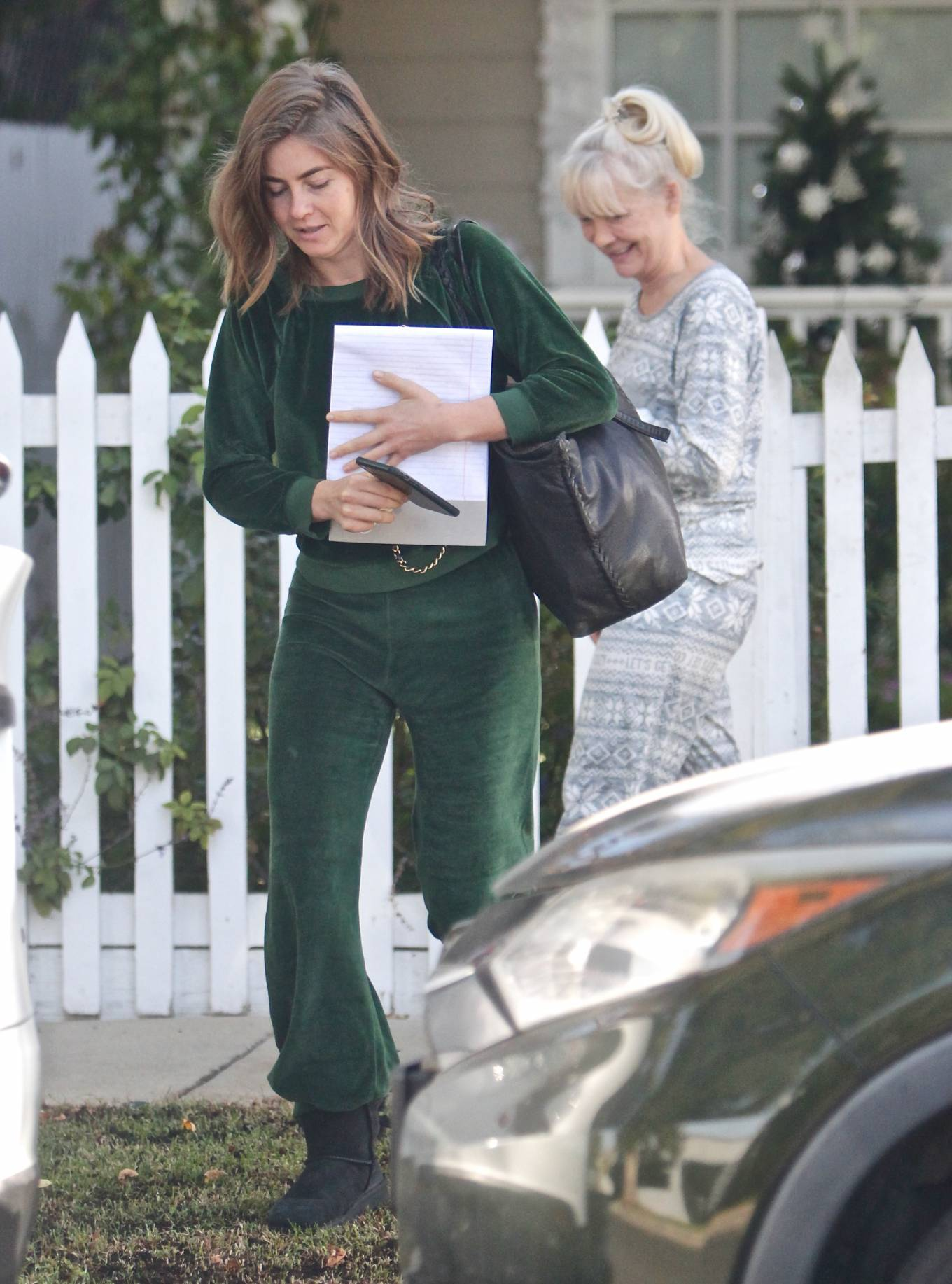 Julianne Hough 2020 : Julianne Hough – Seen leaving her mothers house in Studio City -01