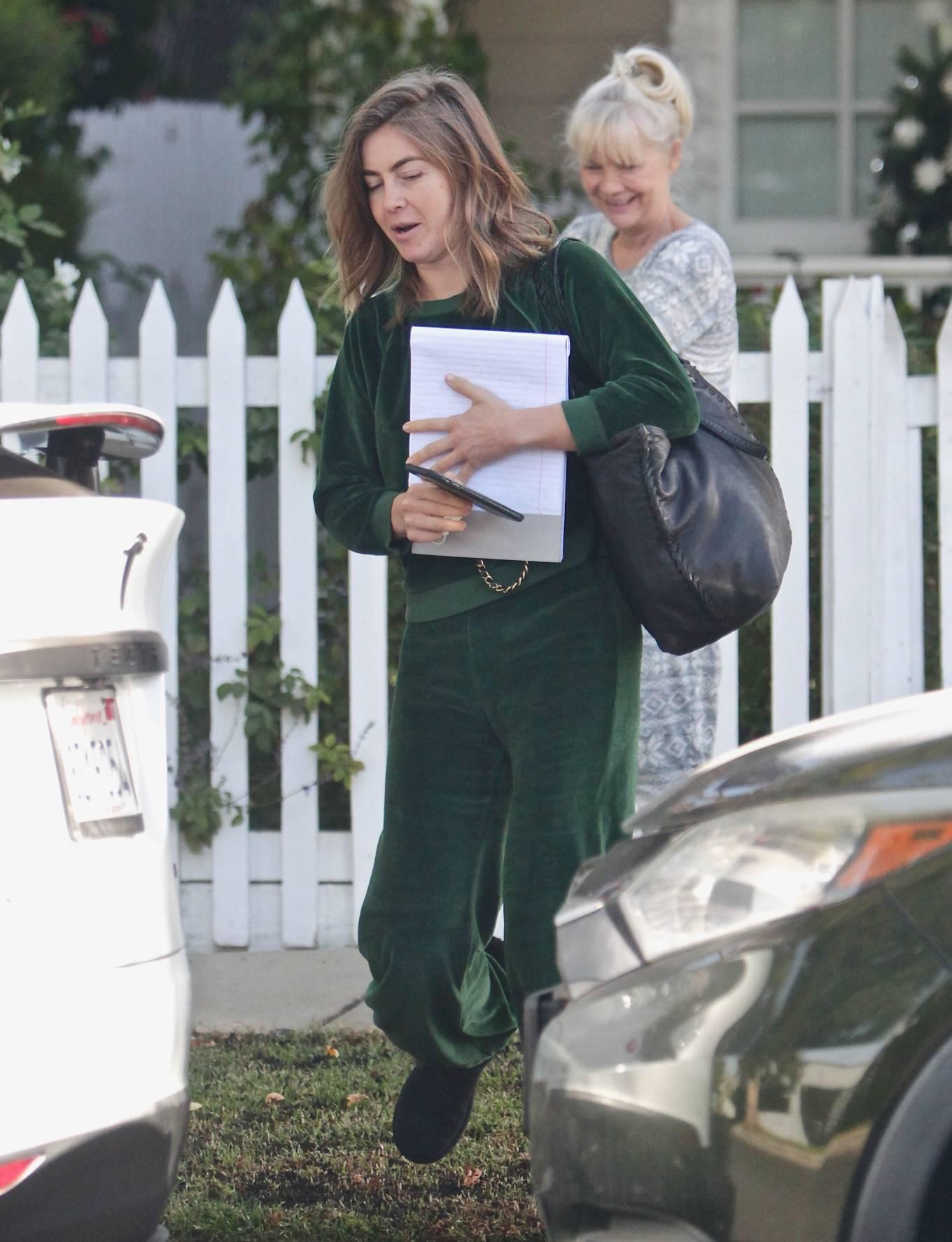 Julianne Hough 2020 : Julianne Hough – Seen leaving her mothers house in Studio City -03