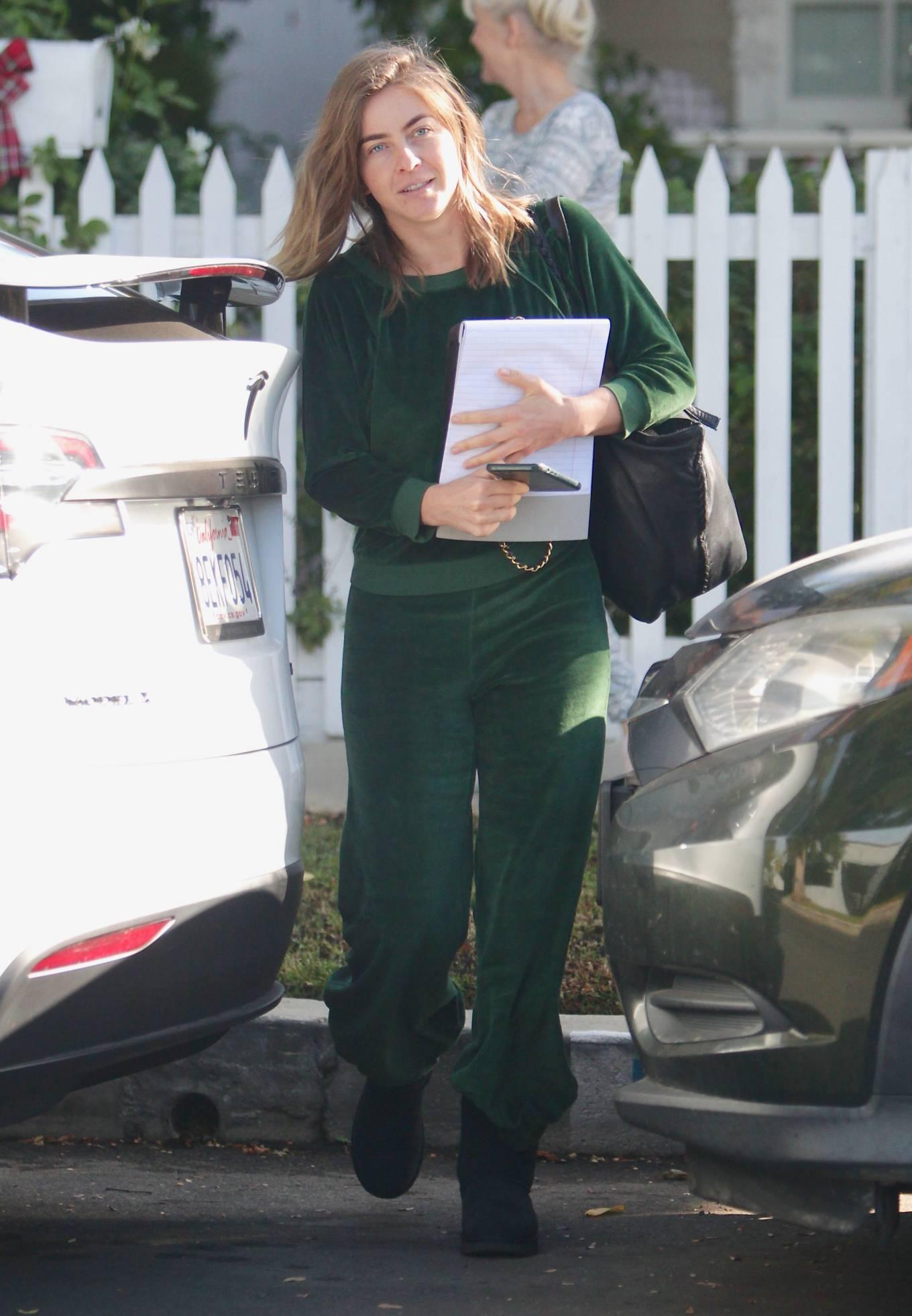 Julianne Hough 2020 : Julianne Hough – Seen leaving her mothers house in Studio City -04