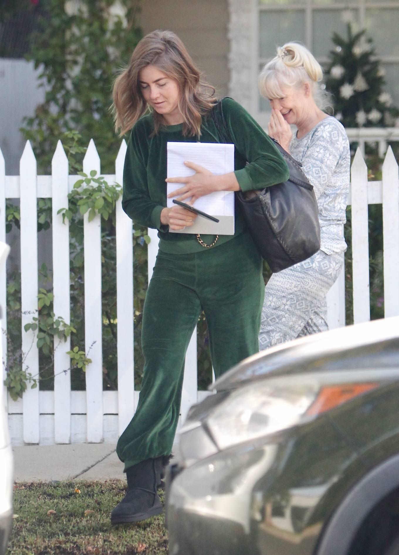 Julianne Hough 2020 : Julianne Hough – Seen leaving her mothers house in Studio City -05