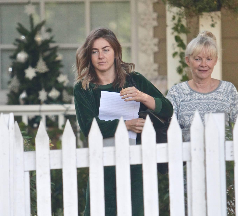 Julianne Hough 2020 : Julianne Hough – Seen leaving her mothers house in Studio City -06