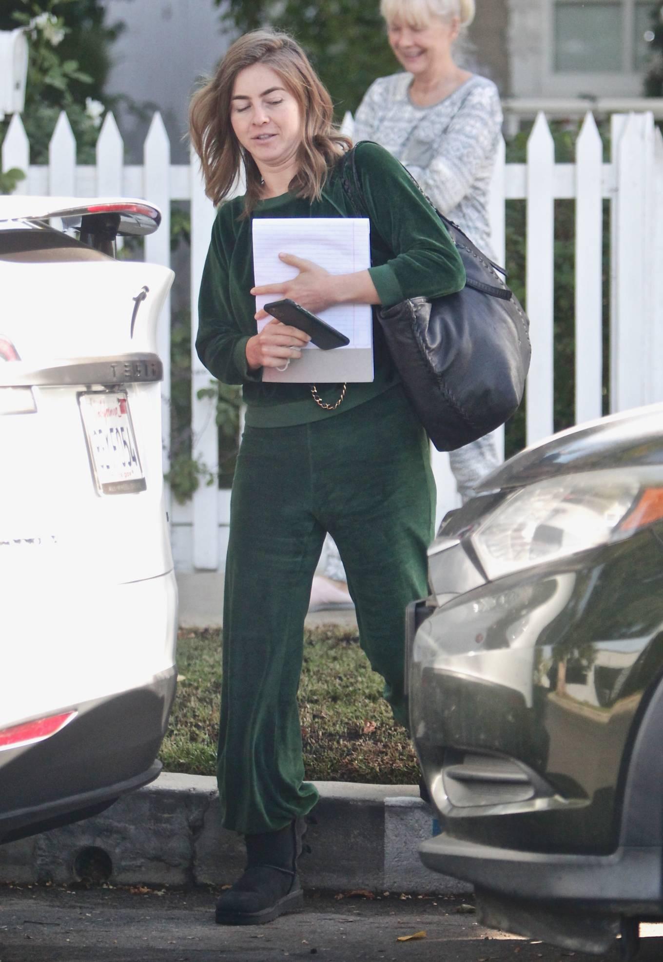 Julianne Hough 2020 : Julianne Hough – Seen leaving her mothers house in Studio City -07