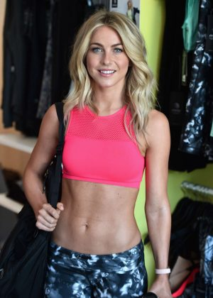 Julianne Hough - Shape Magazine Launches Shape Body Shop in Los Angeles