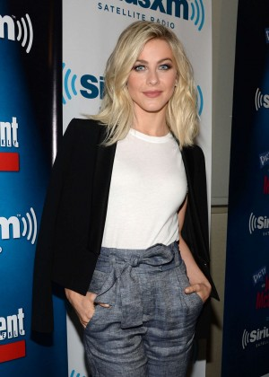 Julianne Hough - SiriusXM Studios in NYC