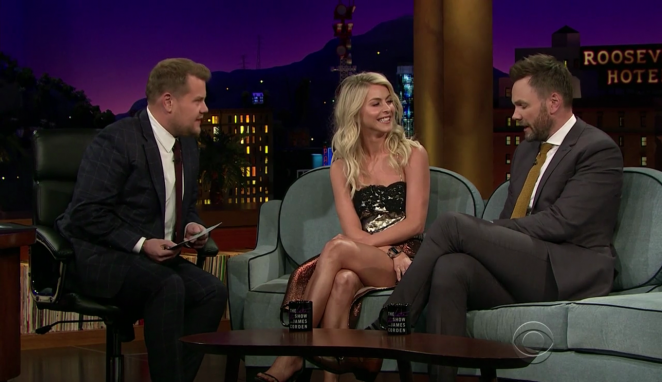Julianne Hough - The Late Late Show with James Corden in LA