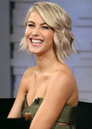 Julianne Hough on 'Good Morning America' in NYC