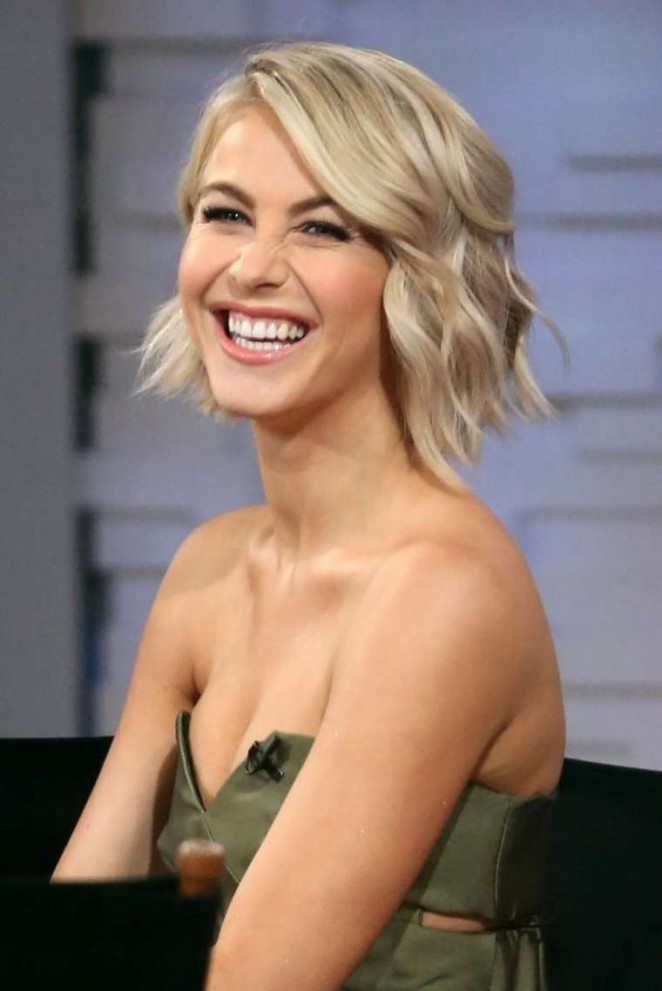 Julianne Hough – Visits 'Good Morning America' in NYC