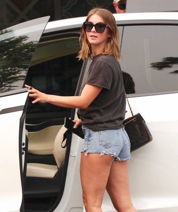 Julianne Hough - wearing shorts while out and about in LA