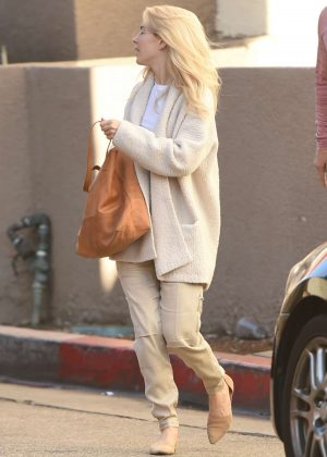 Julianne Hough with her sister out in LA