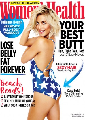 Julianne Hough - Women's Health US Magazine (July/August 2015)