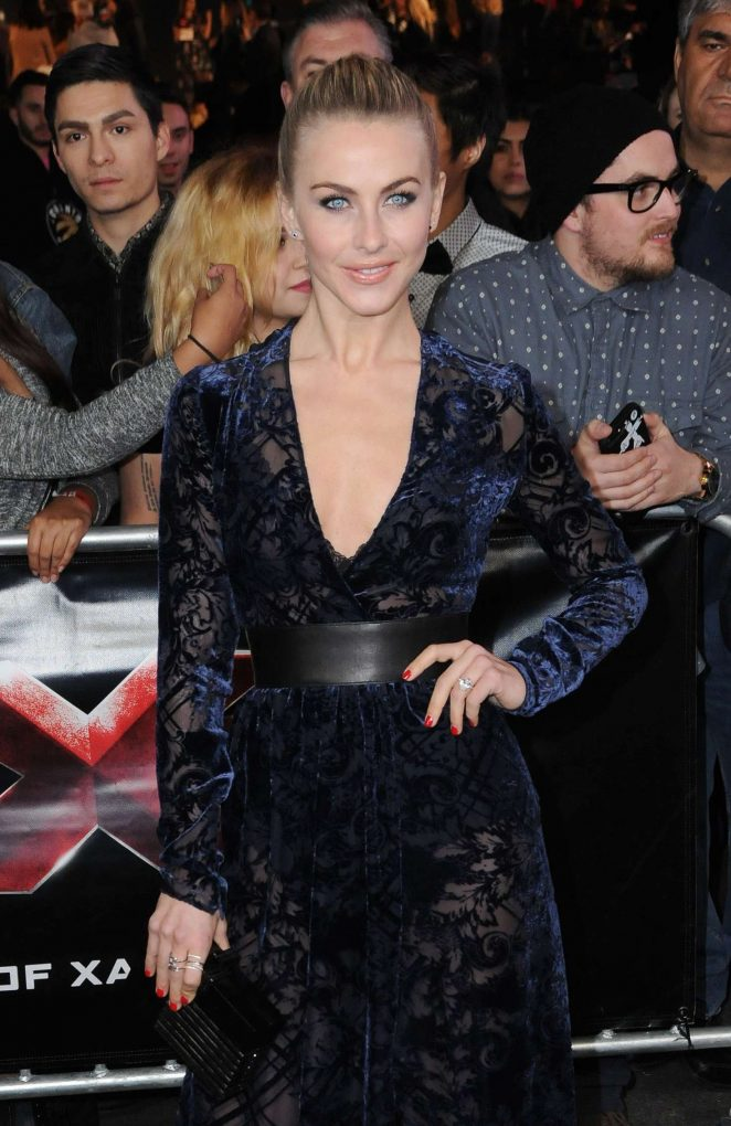 Julianne Hough – 'xXx: Return of Xander Cage' Premiere in Los Angeles