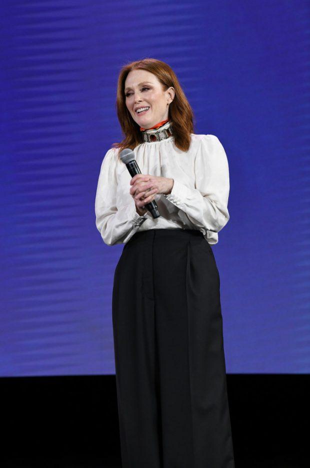 Julianne Moore: 2019 Verizon Media NewFront -10