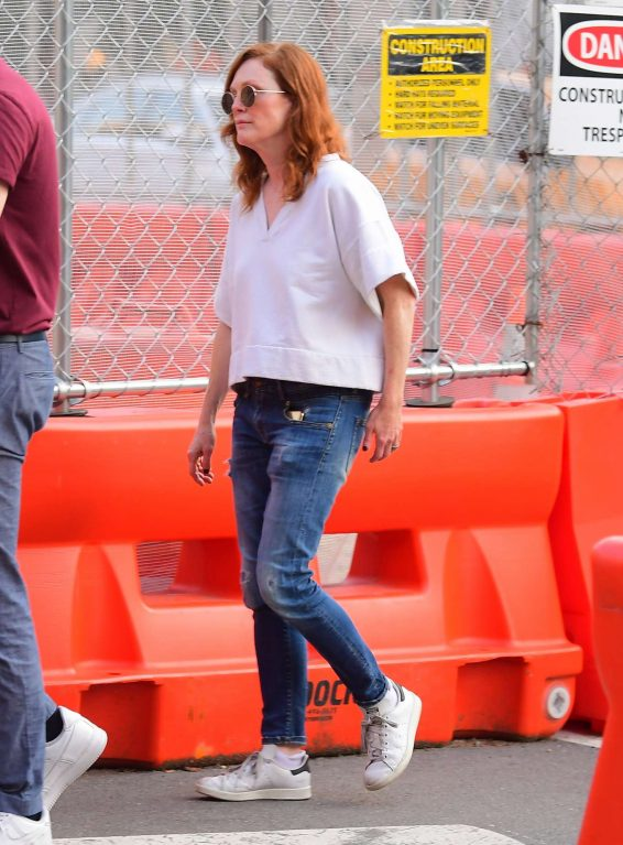 Julianne Moore and daughter Liv Freundlich – Out in New York City-07