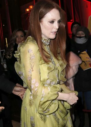 Julianne Moore at L'Oreal Paris Dinner Hosted By Julianne Moore in Paris