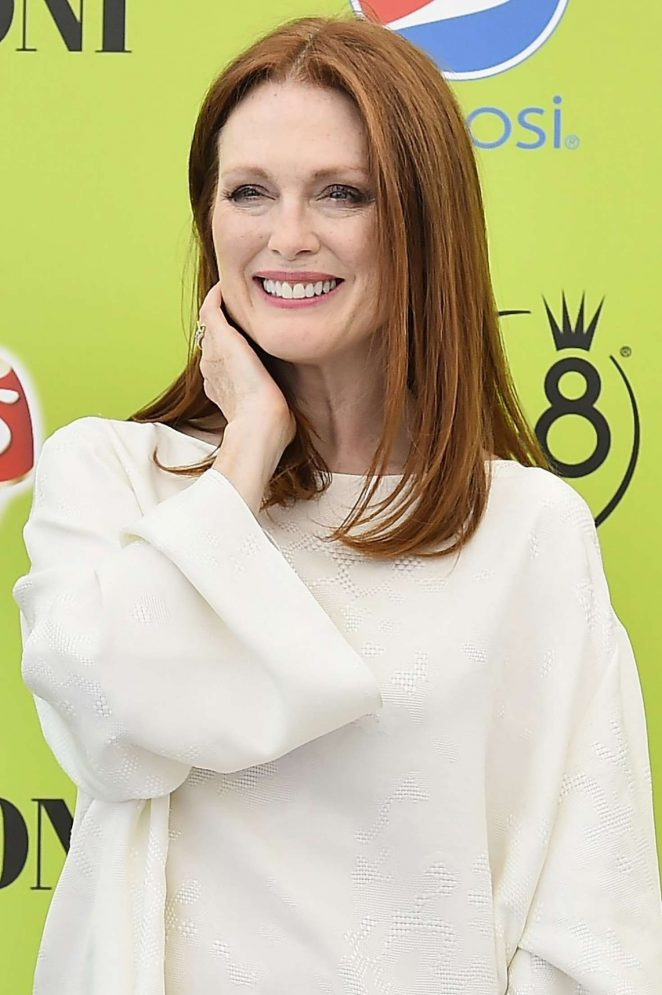 Julianne Moore at the Giffoni Film Festival 2017 in Italy