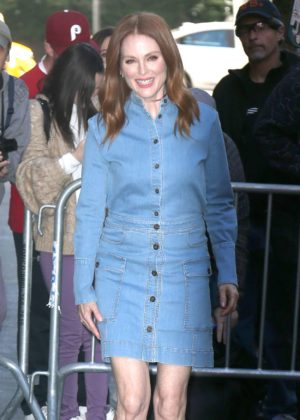Julianne Moore at 'The View' at ABC Television Studios in New York City