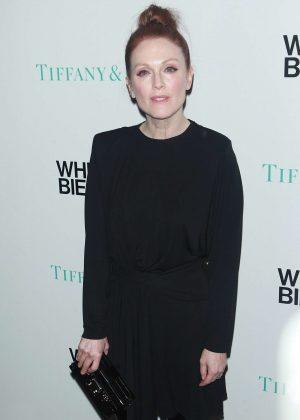 Julianne Moore at Whitney Biennial VIP Opening Night in NYC