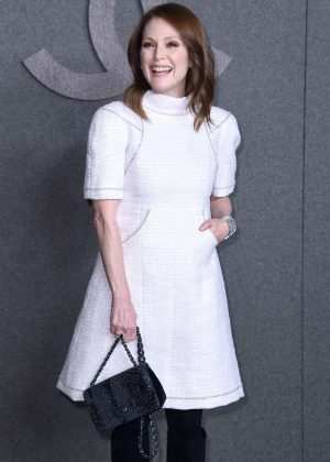 Julianne Moore - Chanel Metiers d'Art Pre-Fall 2019 Fashion Show in NY
