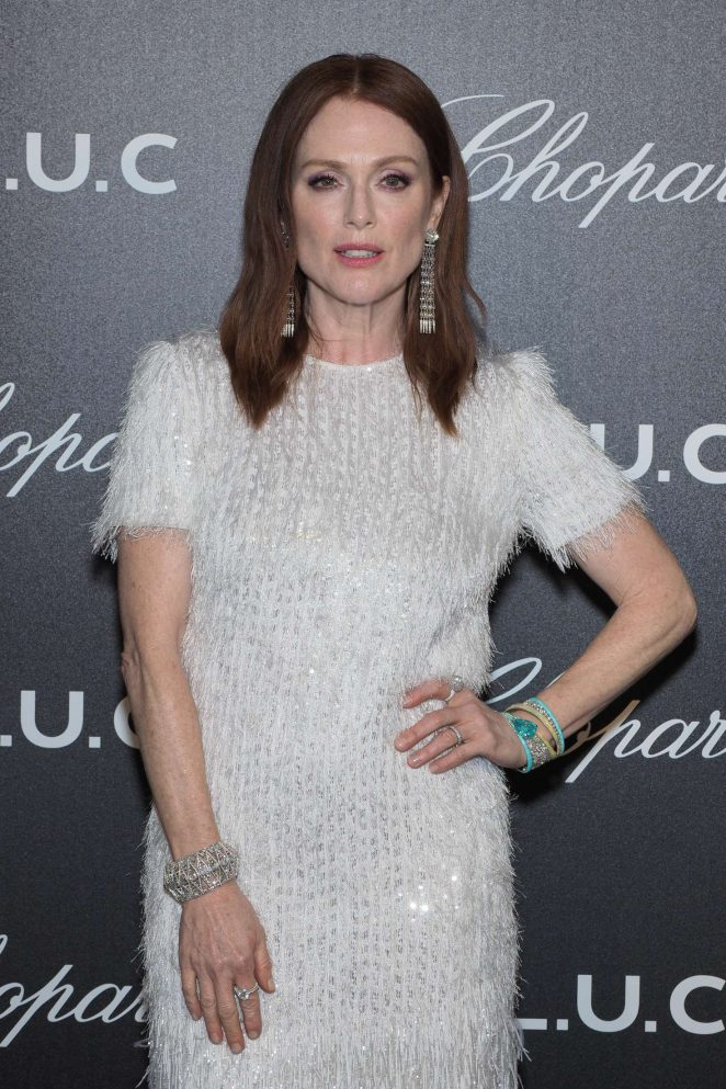 Julianne Moore - Chopard Gentleman's Evening in Cannes