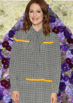 Julianne Moore - 'Florale by Triumph' 2018 Collection Launch Event in Tokyo