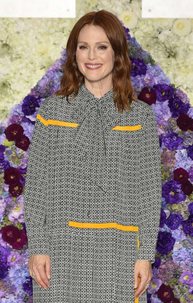 Julianne Moore – 'Florale by Triumph' 2018 Collection Launch Event in Tokyo
