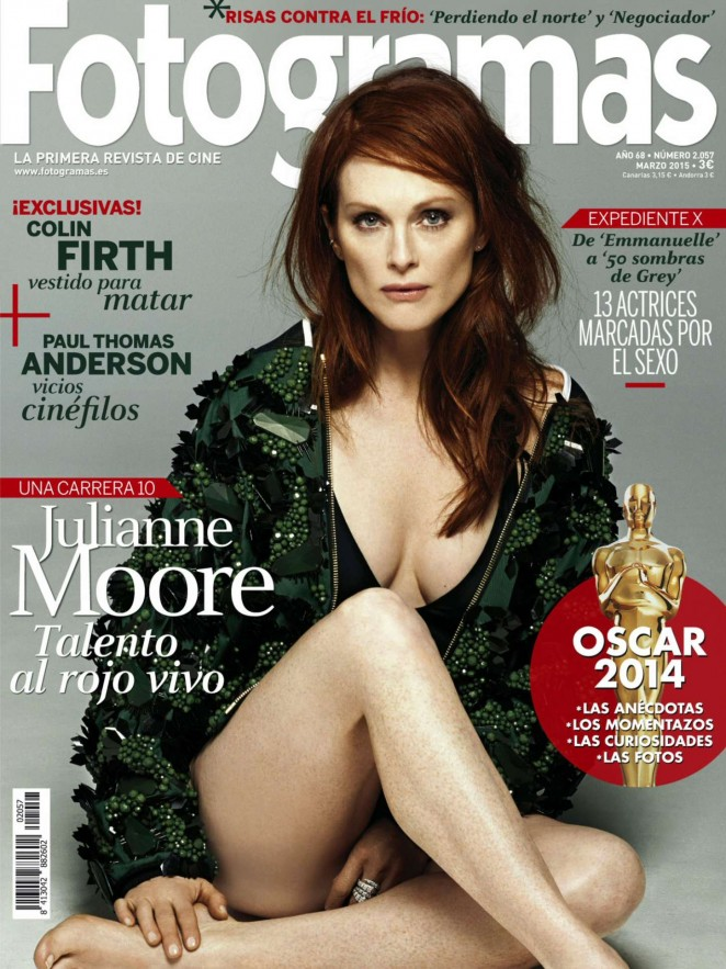 Julianne Moore - Fotogramas Magazine (March 2015)