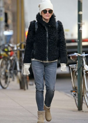 Julianne Moore in Jeans out in New York