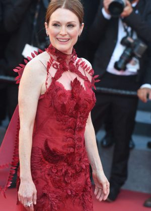 Julianne Moore - 'Ismael's Ghosts' Screening at 70th Annual Cannes Film Festival in France